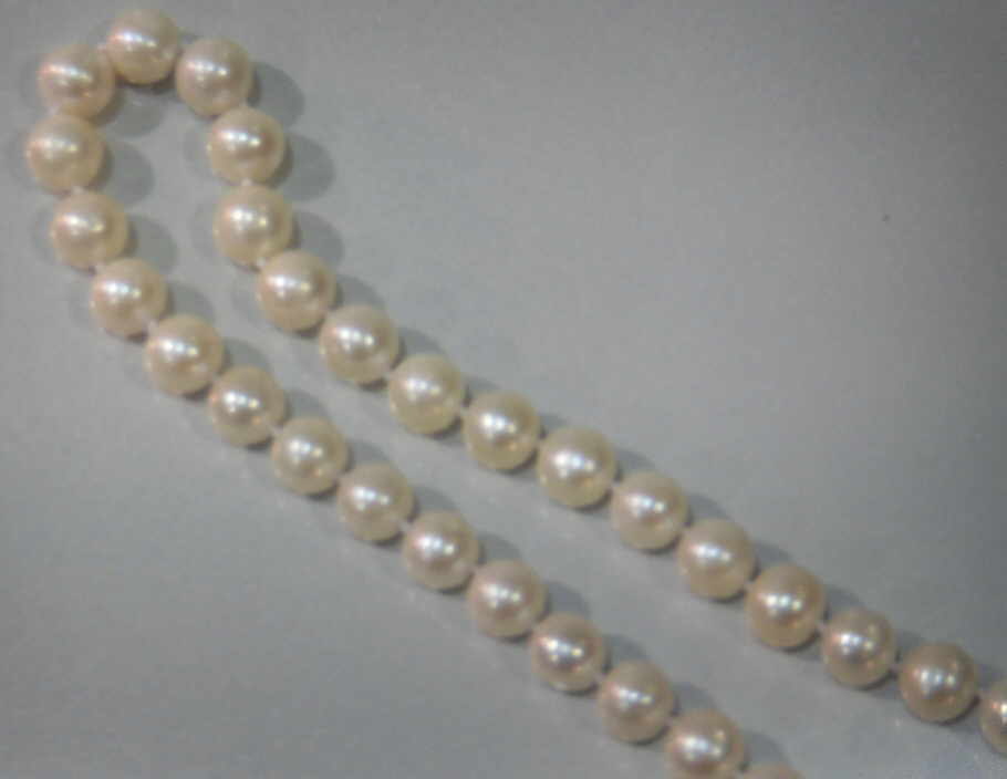 #206 - 8MM NECK-CULTURED-WHITE