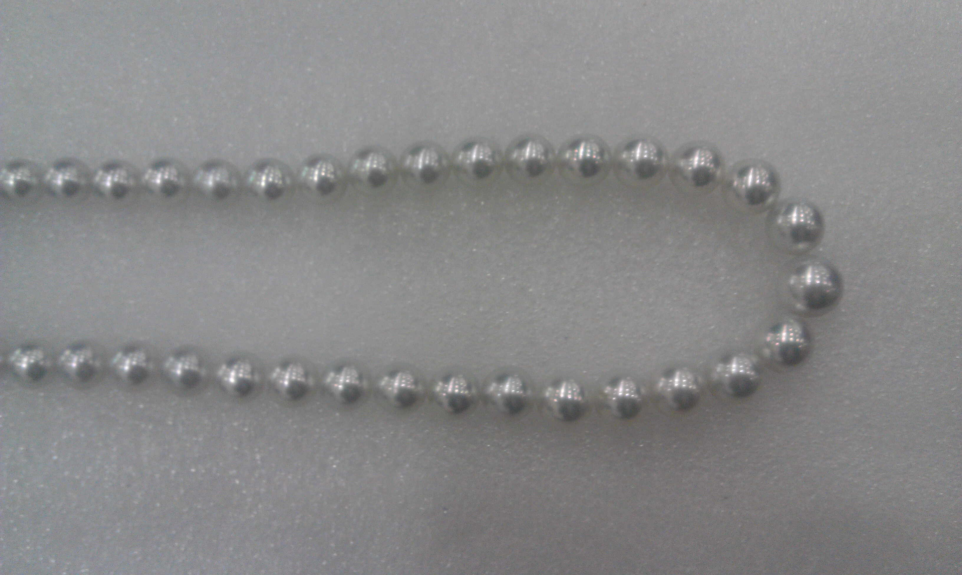 #215 - CULTURED 7_5MM  WHITE GREY