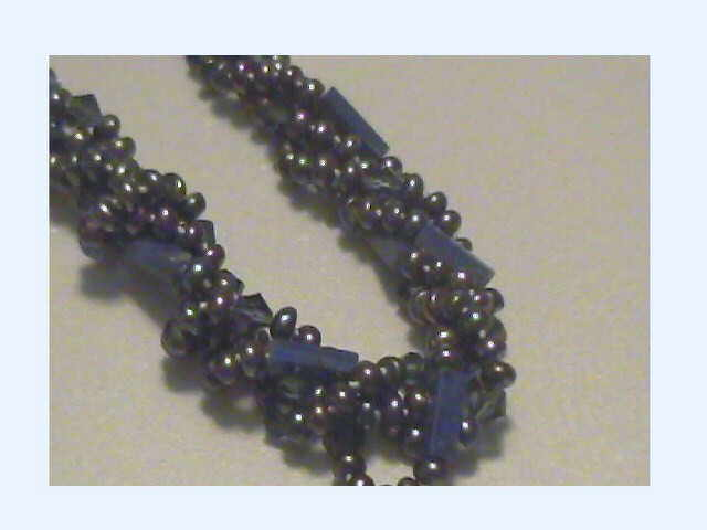 #39 BLACK PEARL WITH LAPIS CLOSE