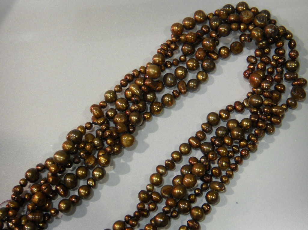 #529 - NECK-MULTI-BROWN